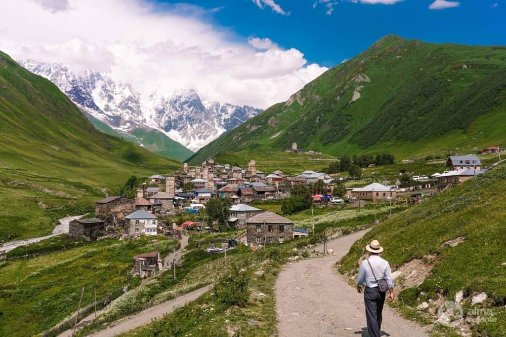 Visita Ushguli, Svaneti, Georgia