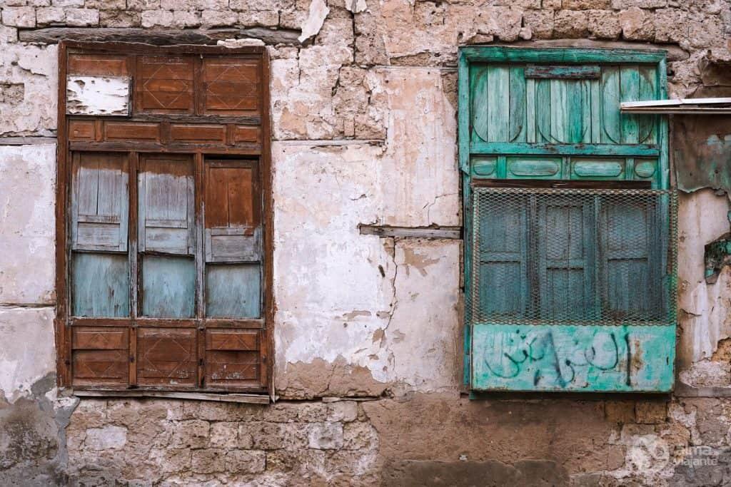 Ventanas en Al-Balad, Yeda