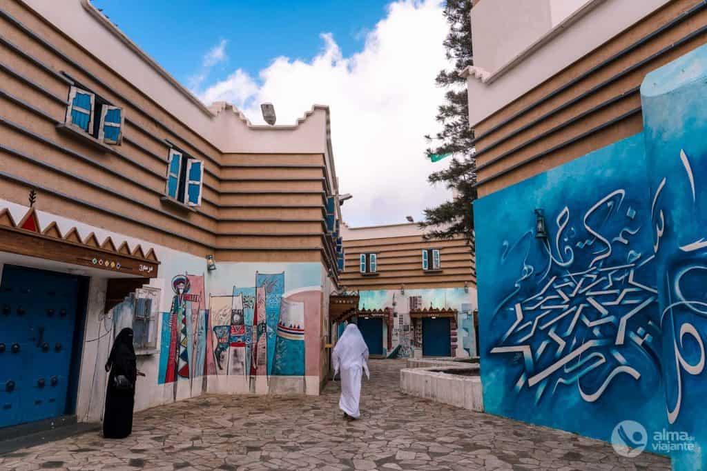 Al-Muftaha Art Village, Abha, Arabia Saudita