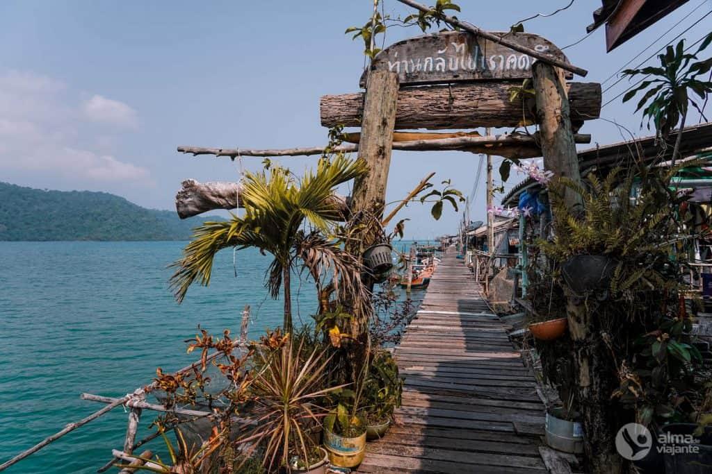Cosas que hacer en Koh Kood: visita Ao Salat