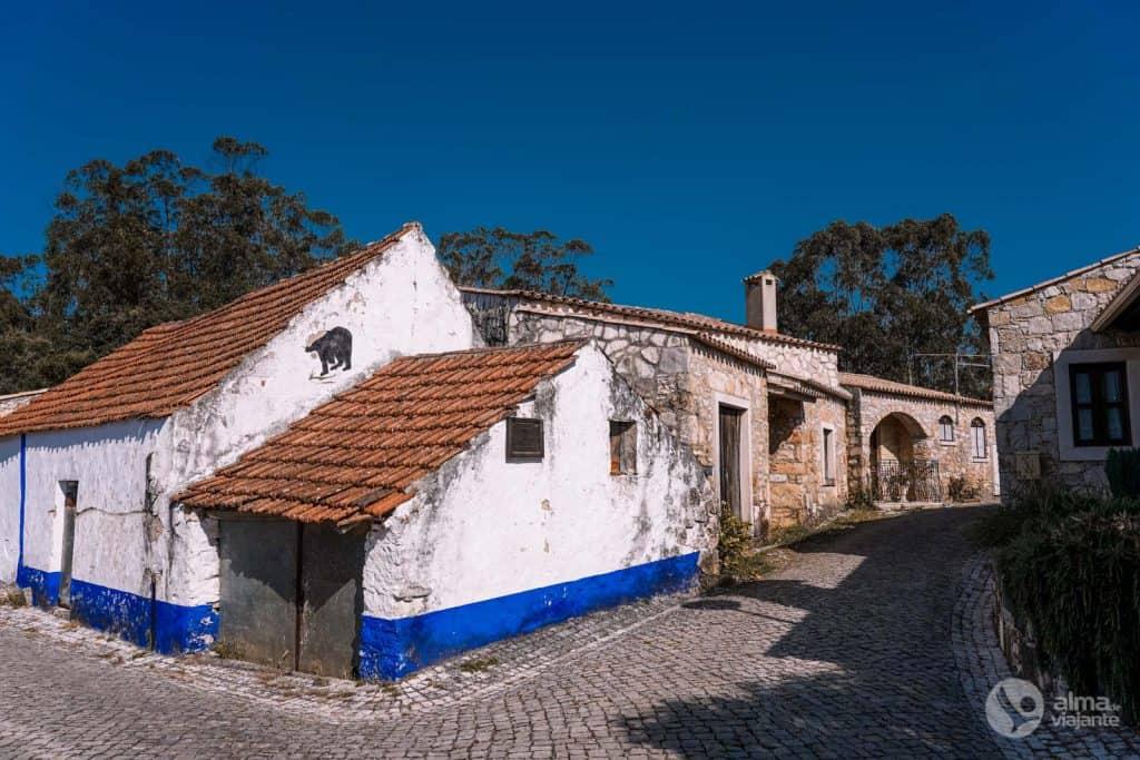 Hoja de ruta centro de Portugal: pueblo de Pia do Urso