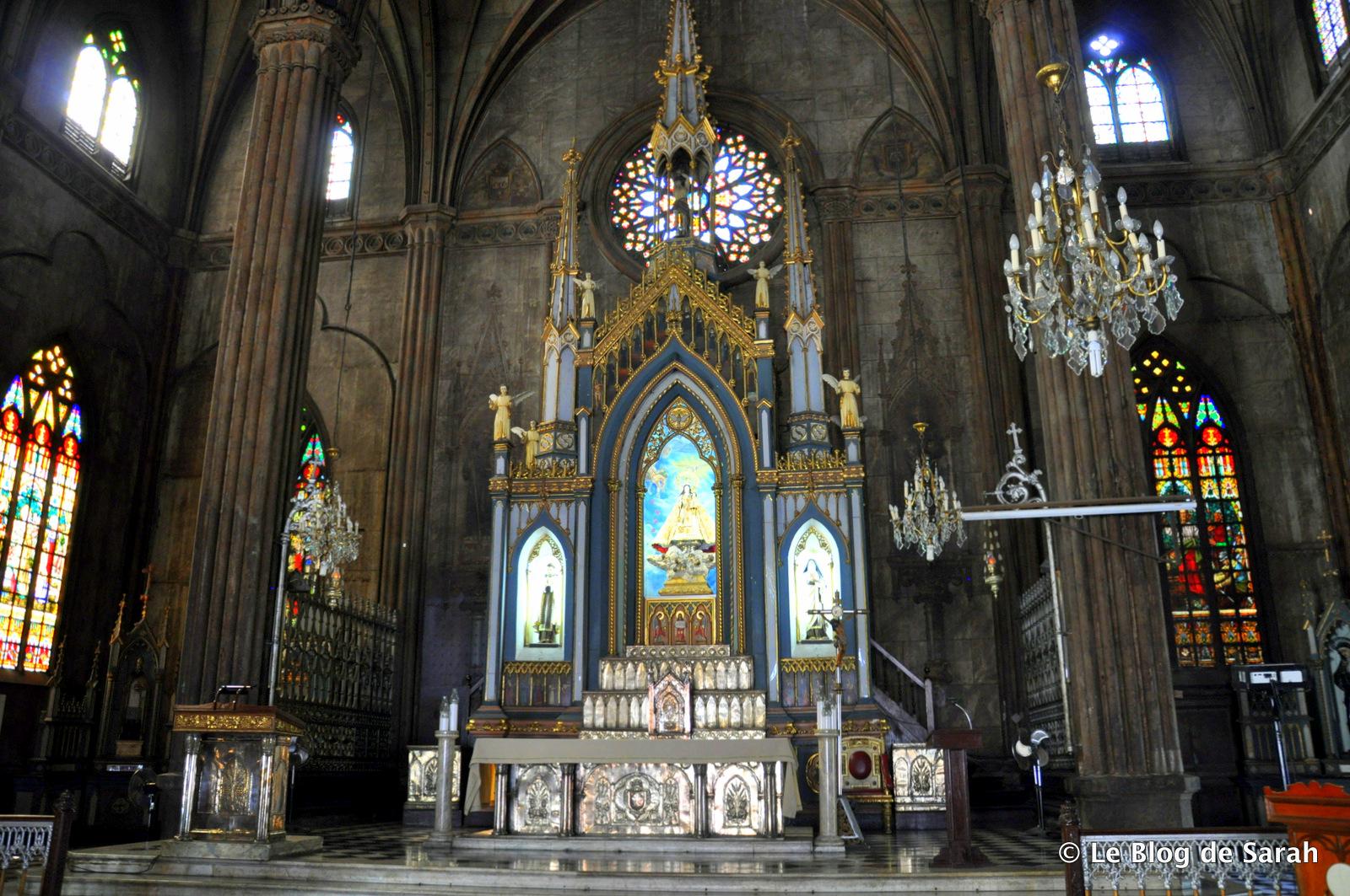 altar de grillete de acero basílica-2