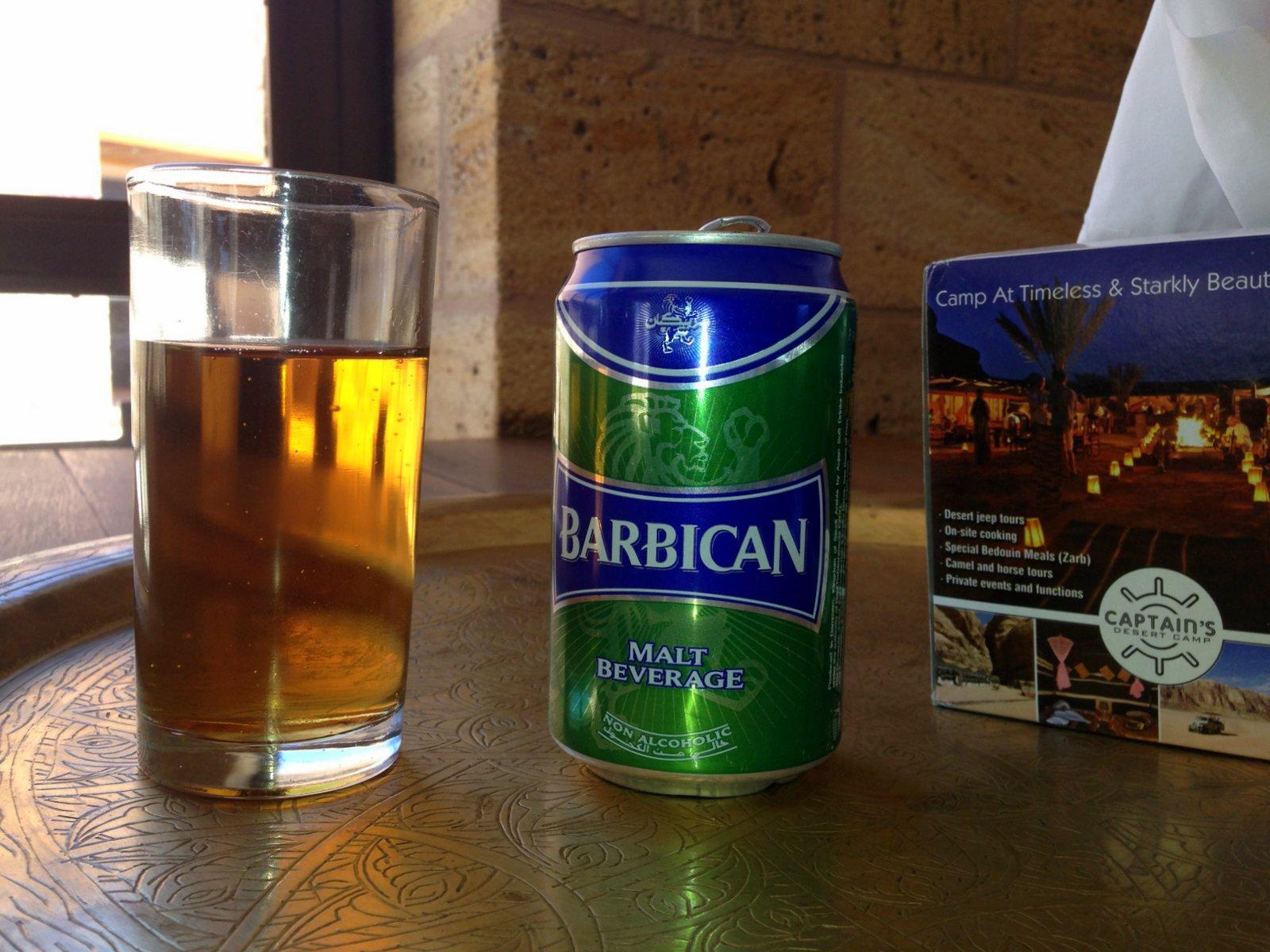 Barbican, una cerveza sin alcohol importada de Arabia Saudita