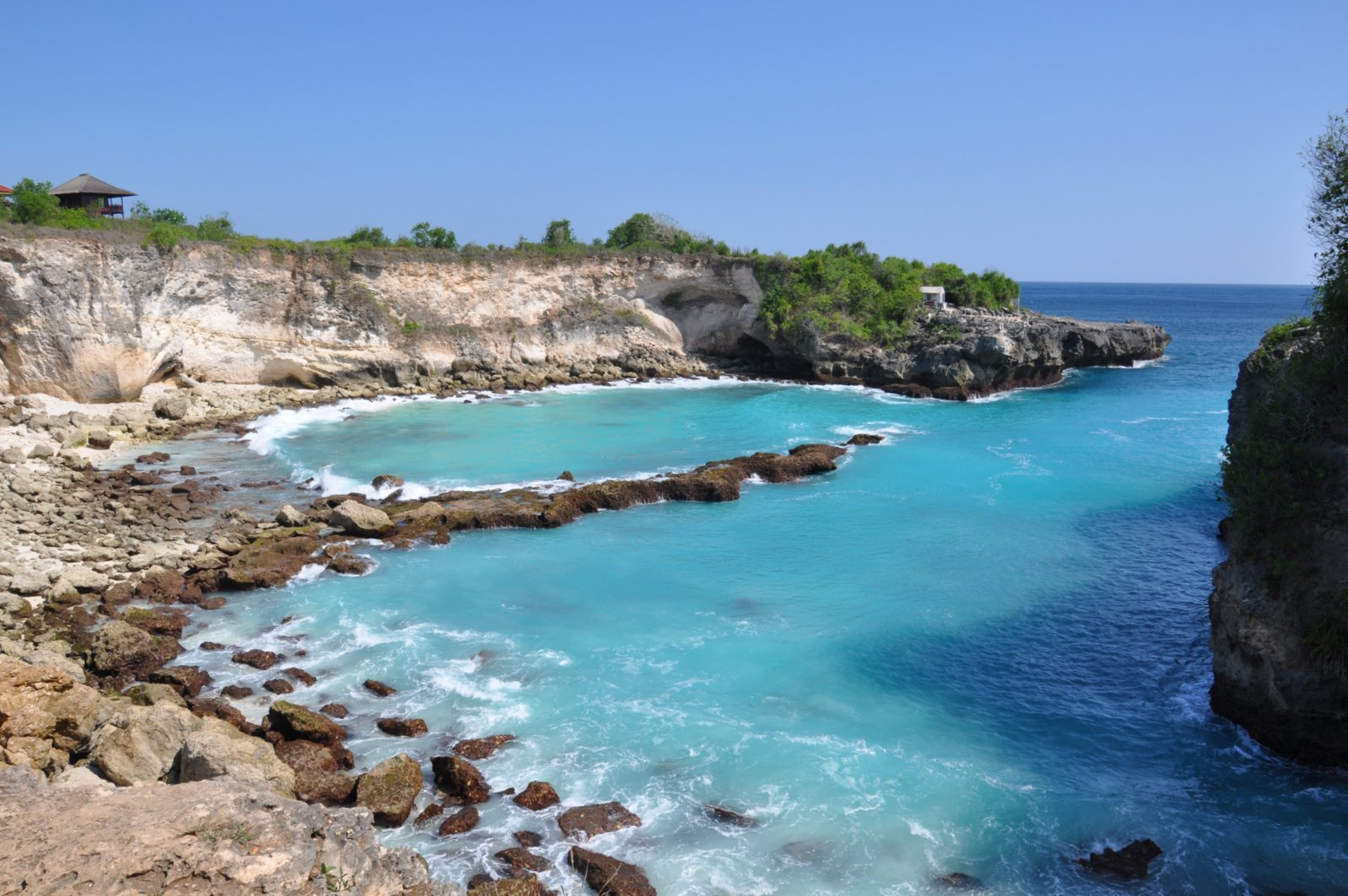 La Laguna Azul en Nusa Ceningan