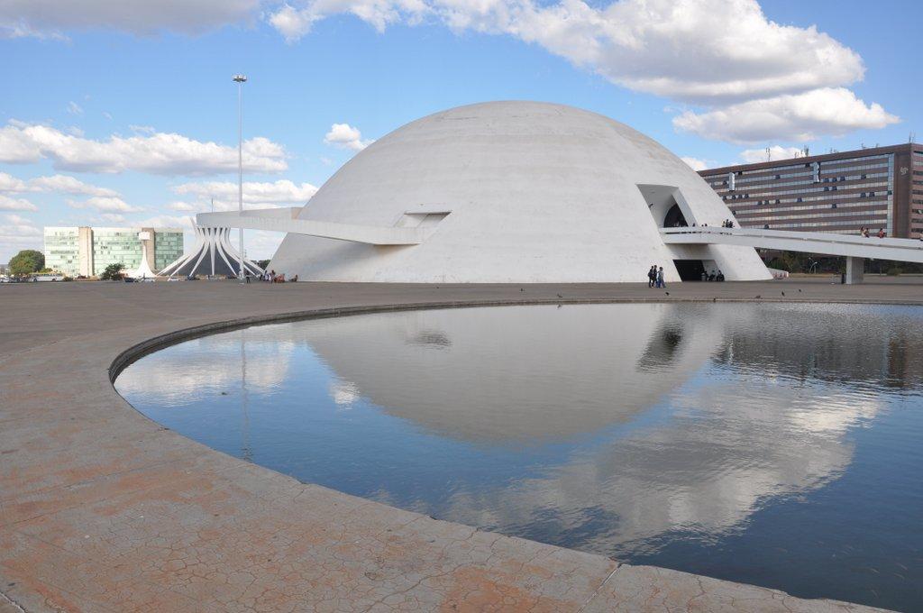 El Museo Nacional de Brasilia