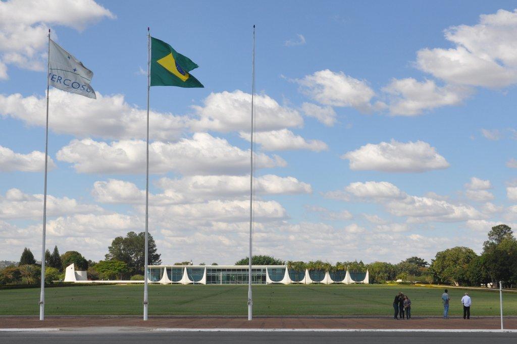 El Palacio Presidencial de Brasilia