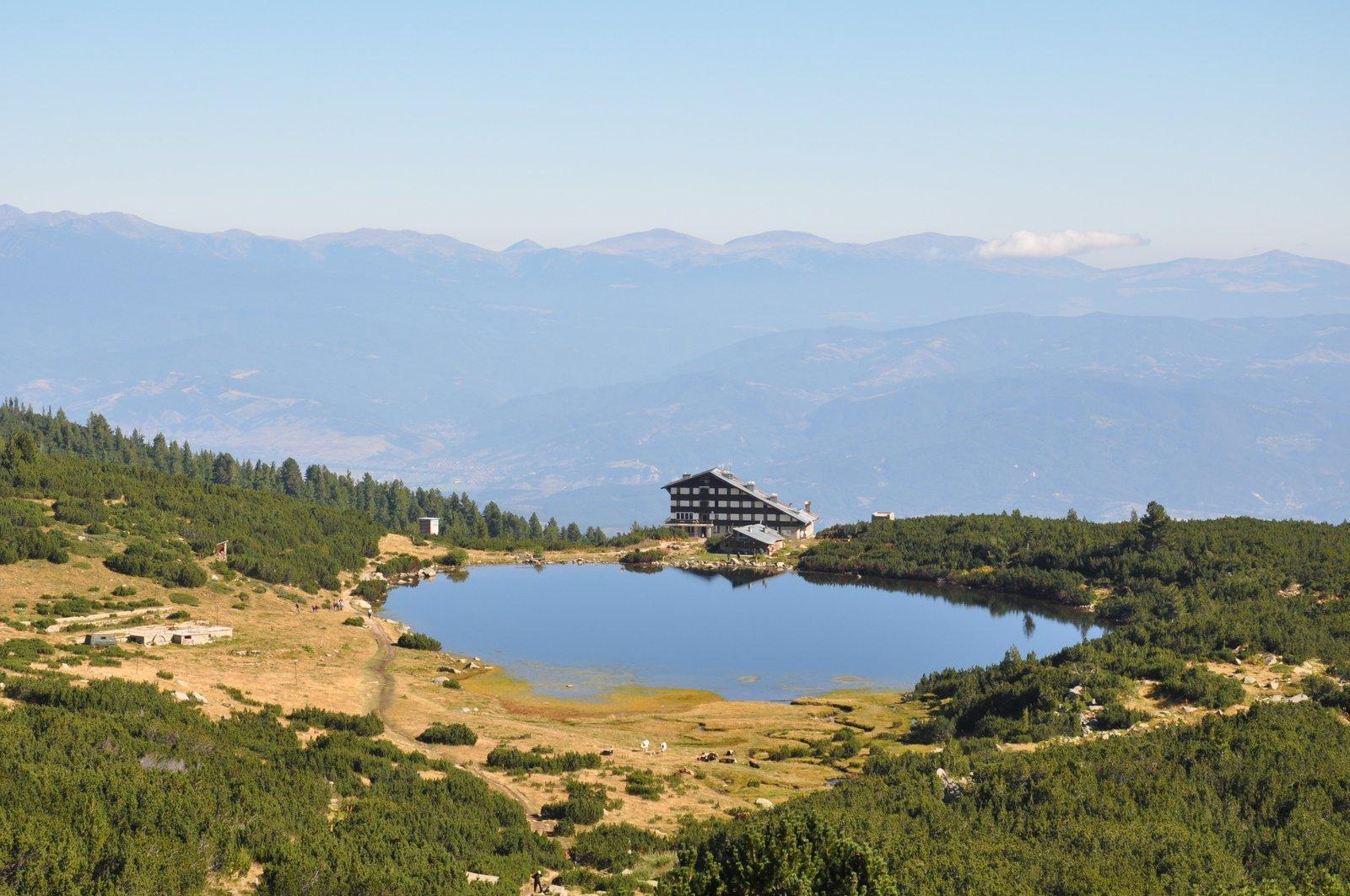 Lago Bezbog en el Macizo del Pirin