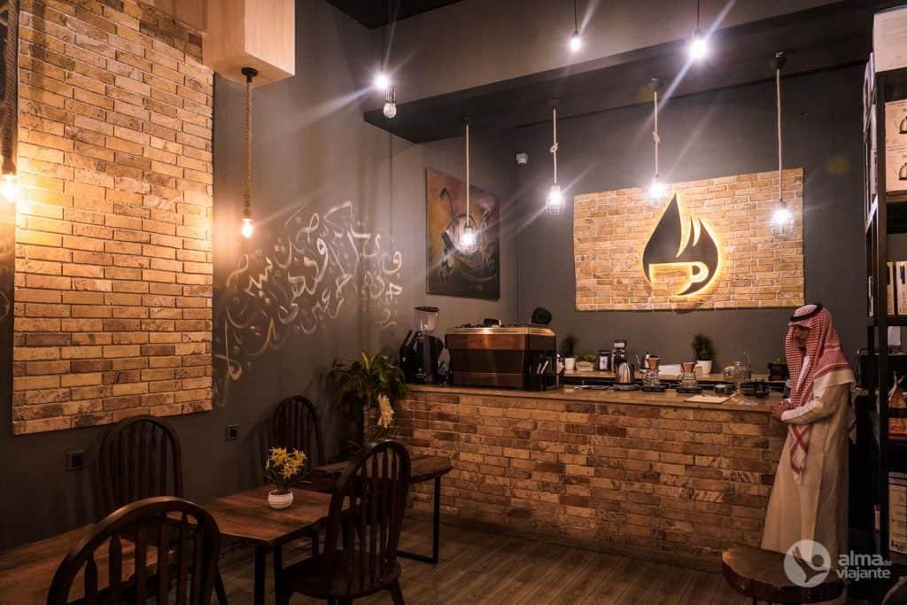 Black Drop Café, Abha