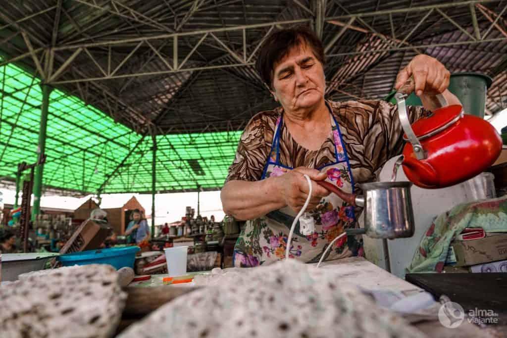 Café stepanakert Market
