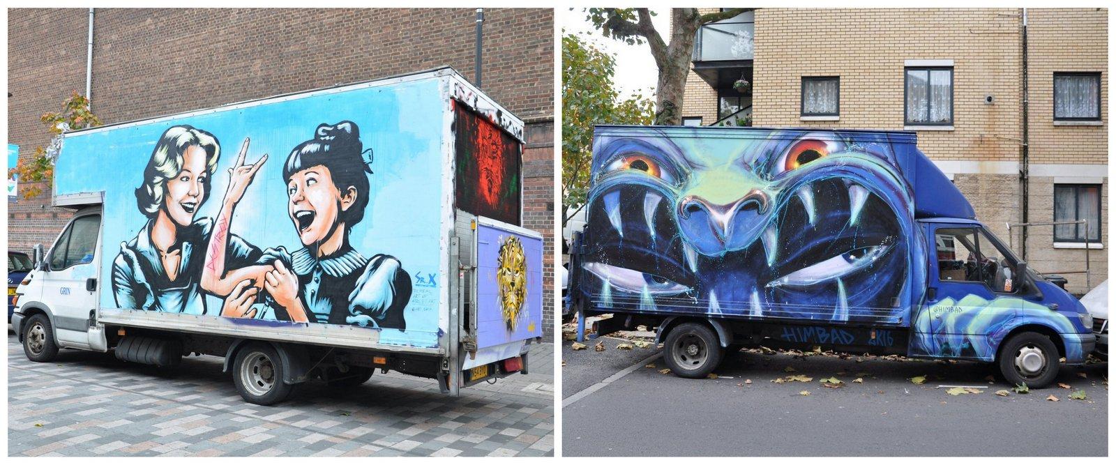 camden-town-Londres-camiones-street-art