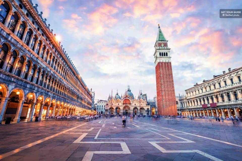 Atracciones en Venecia: Campanario de San Marcos