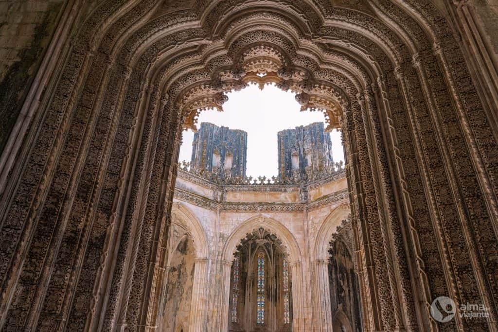 Qué ver en el Monasterio de Batalha: Capillas imperfectas