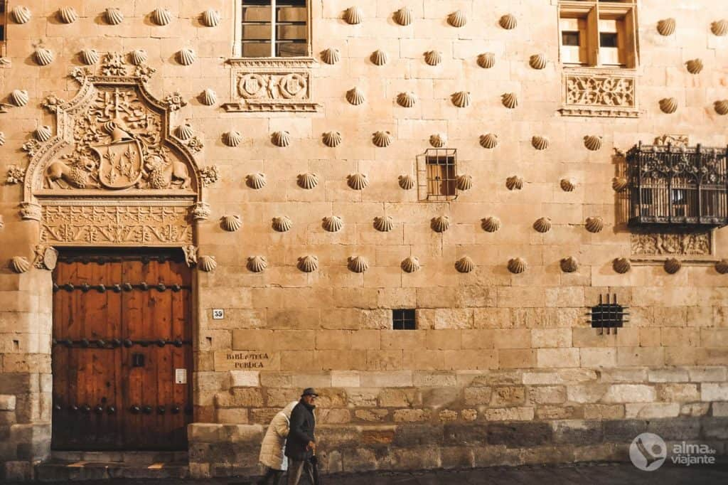 Casa de conchas, Salamanca