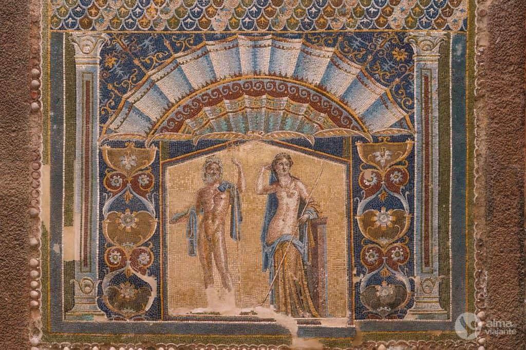 Qué ver en Herculano: Casa de Neptuno y Anfitrión