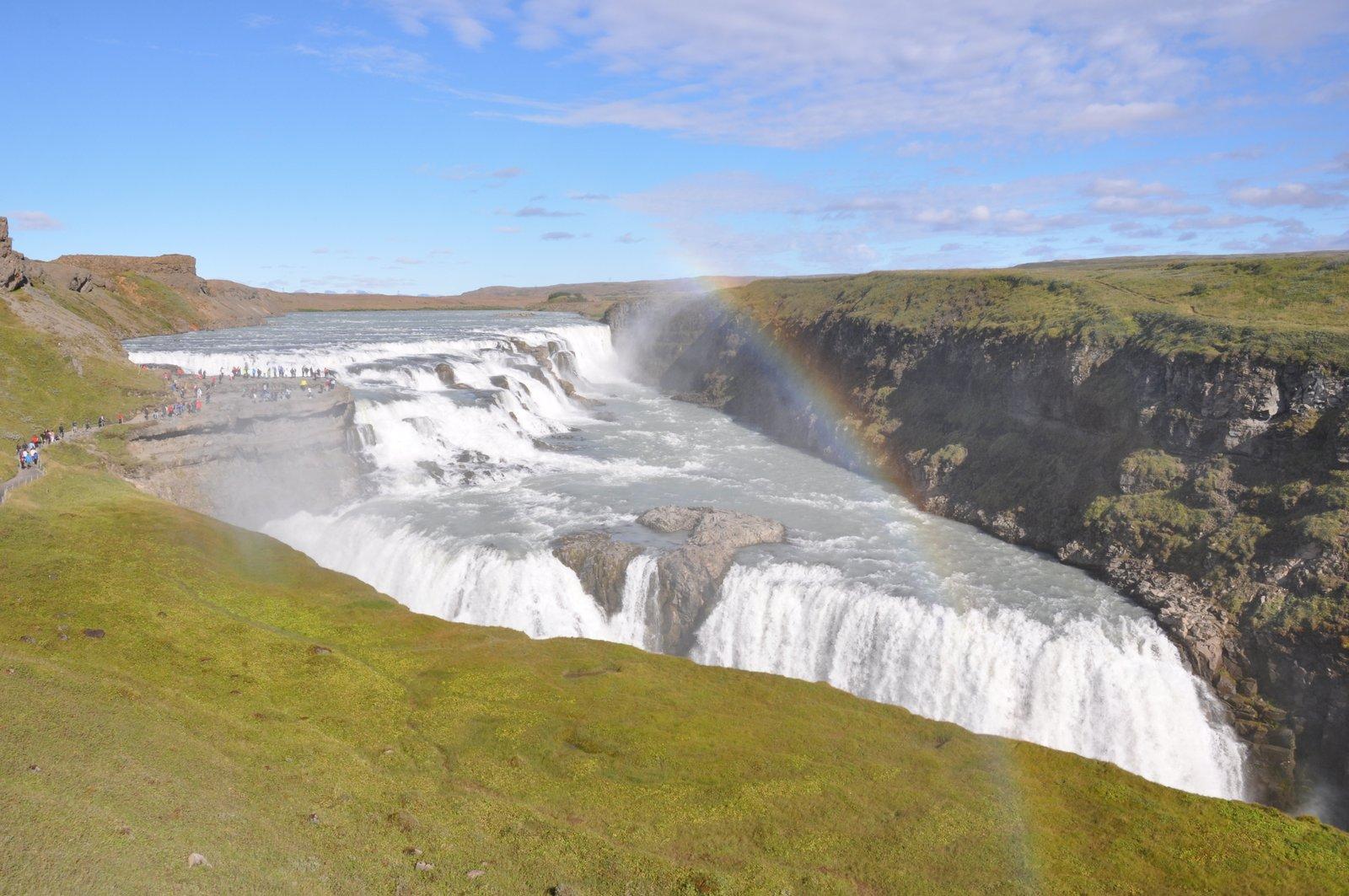cascada-Islandia-gullfoss