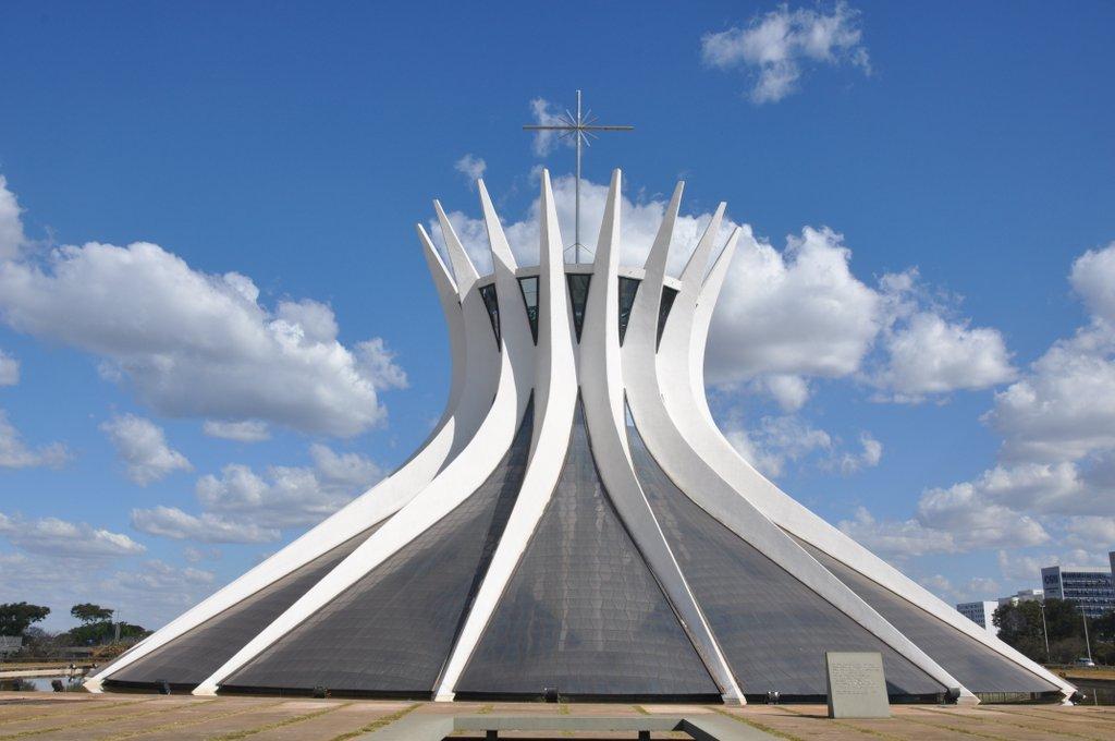 La Catedral Metropolitana de Brasilia