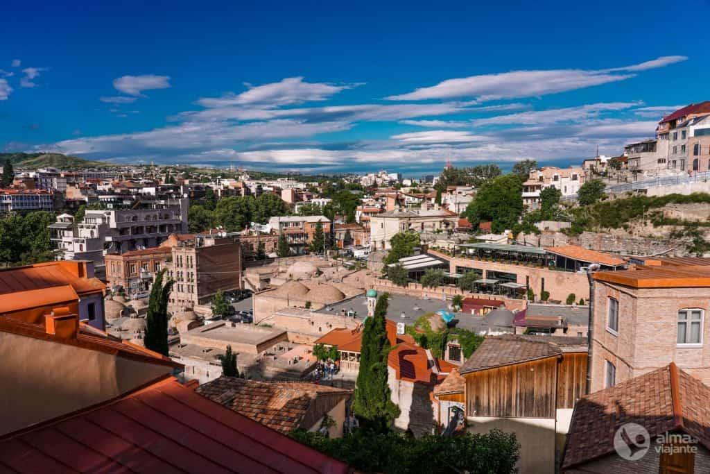Casco antiguo de Tiflis