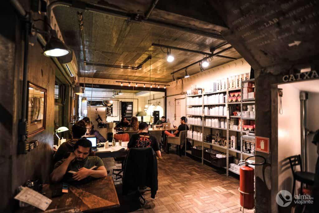 Guión en Vila Madalena: Coffee Lab