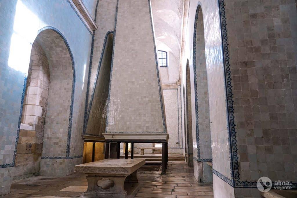 Cocina del Monasterio de Alcobaça