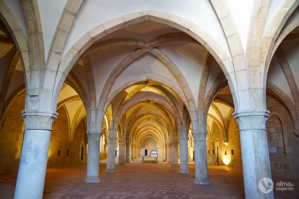 Dormitorio del Monasterio de Alcobaça