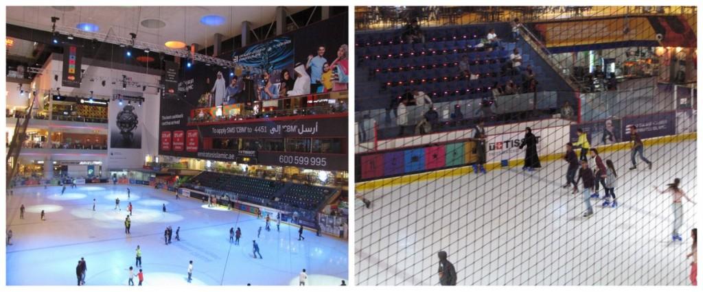 dubai-centro comercial-pista de hielo