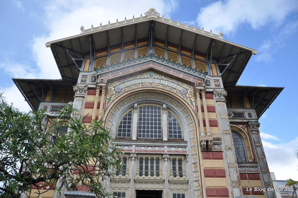 fort-de-france-biblioteca schoelcher