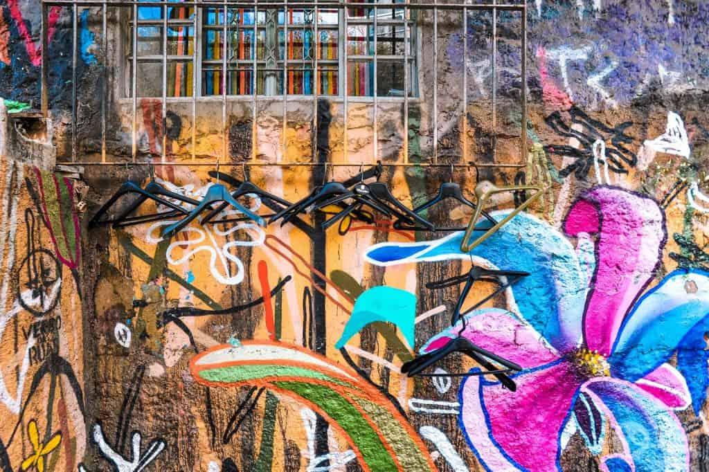 Arte urbano en Vila Madalena