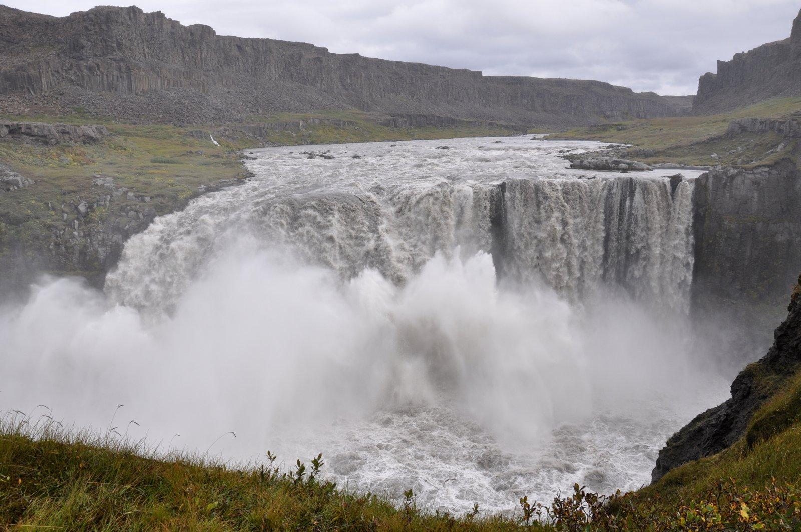 hafragilsfoss-Islandia-cascada