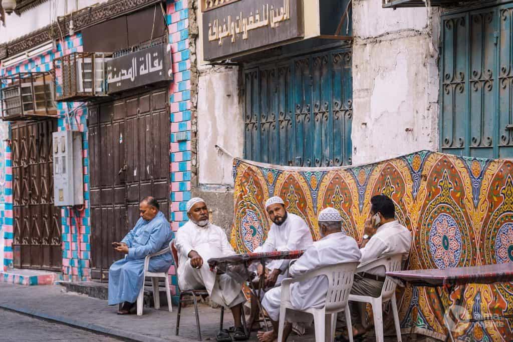 Guión en Arabia Saudita: Jeddah