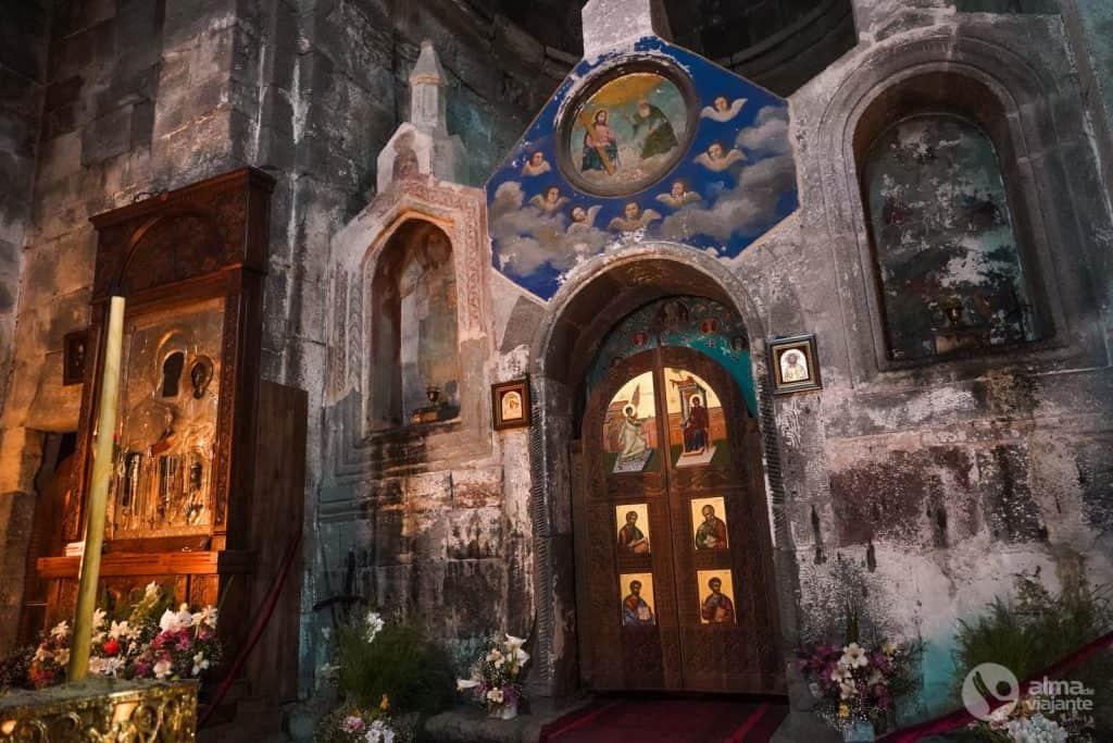 Iglesia gergeti, Kazbegi, Georgia