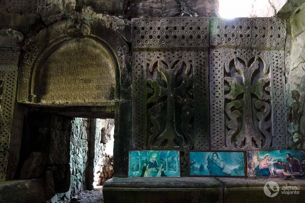 Decoraciones en piedra, Matosavank