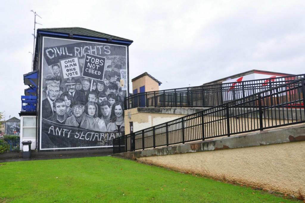 mural infantil Irlanda del Norte