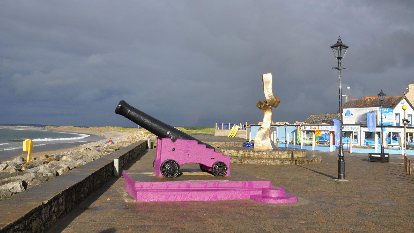 Playa de Strandhill cerca de Sligo