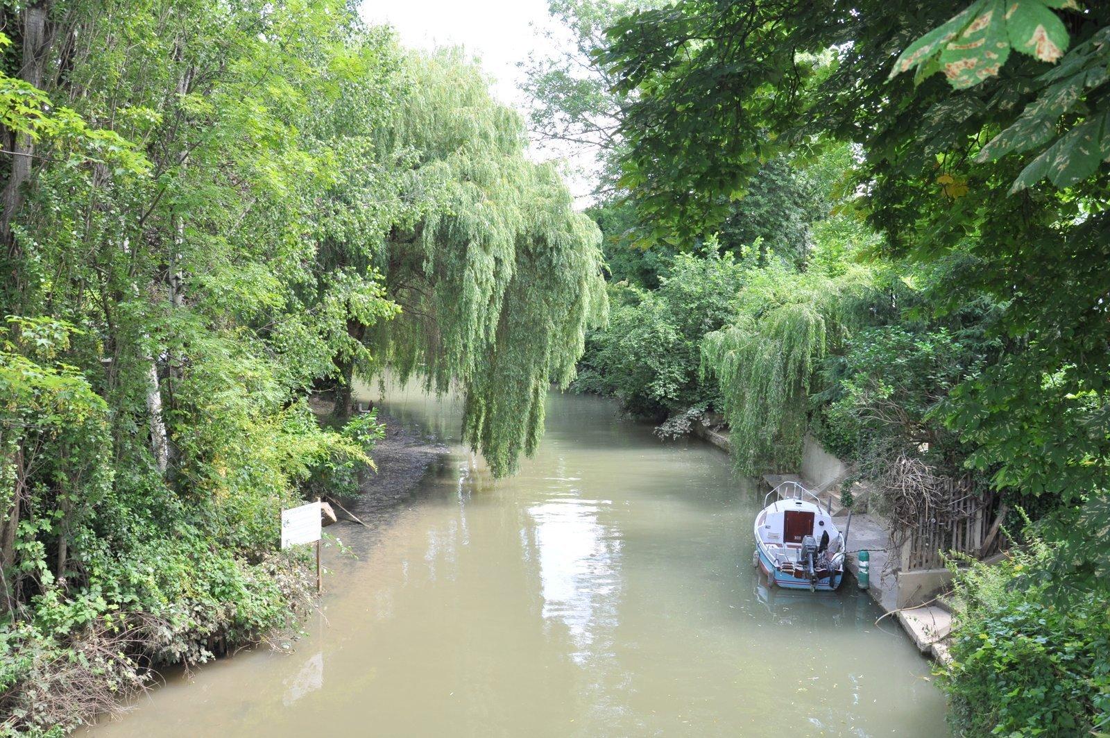 El canal de Polangis a Joinville-le-Pont
