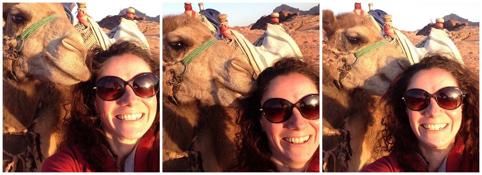 jordan selfie inusual dromedario