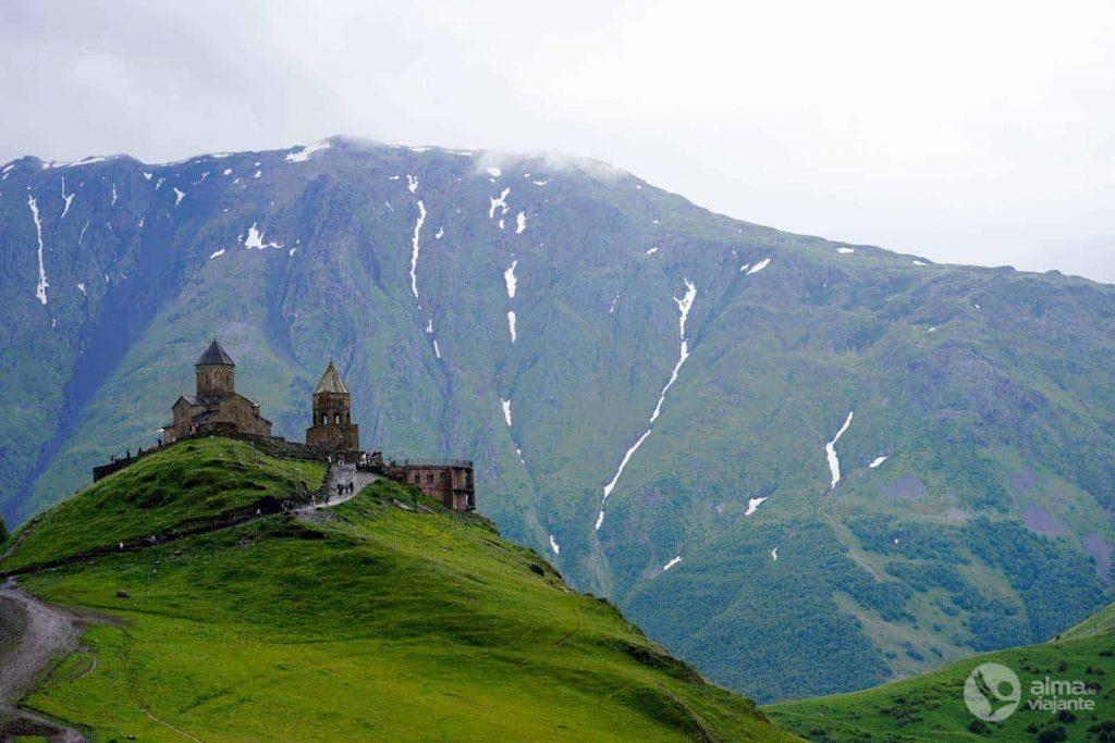 Iglesia de la Trinidad de Gergeti, Kazbegi