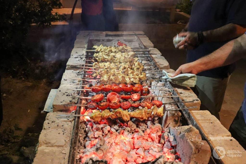 Kebab, el plato tradicional de Irán