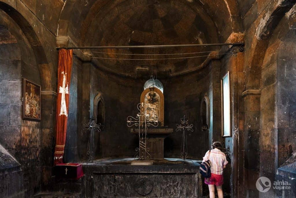Visita Khor Virap: capilla