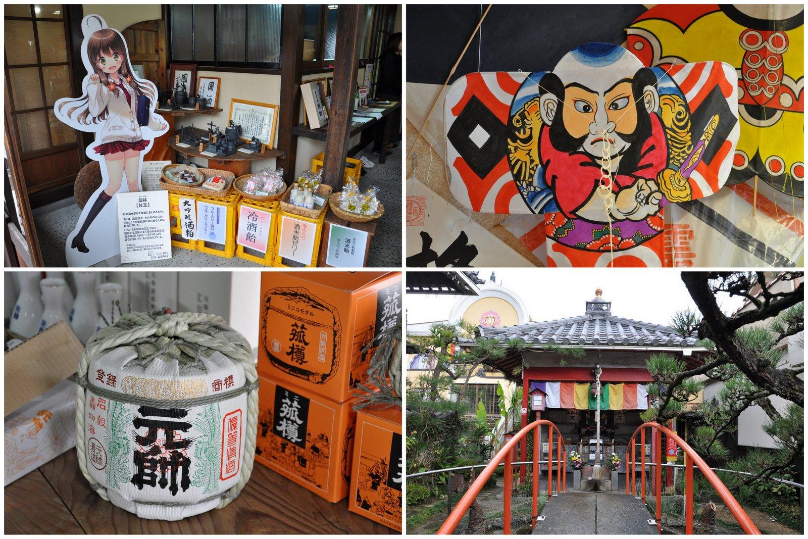 Manga, sake, cometas y templos... para Kurayoshi