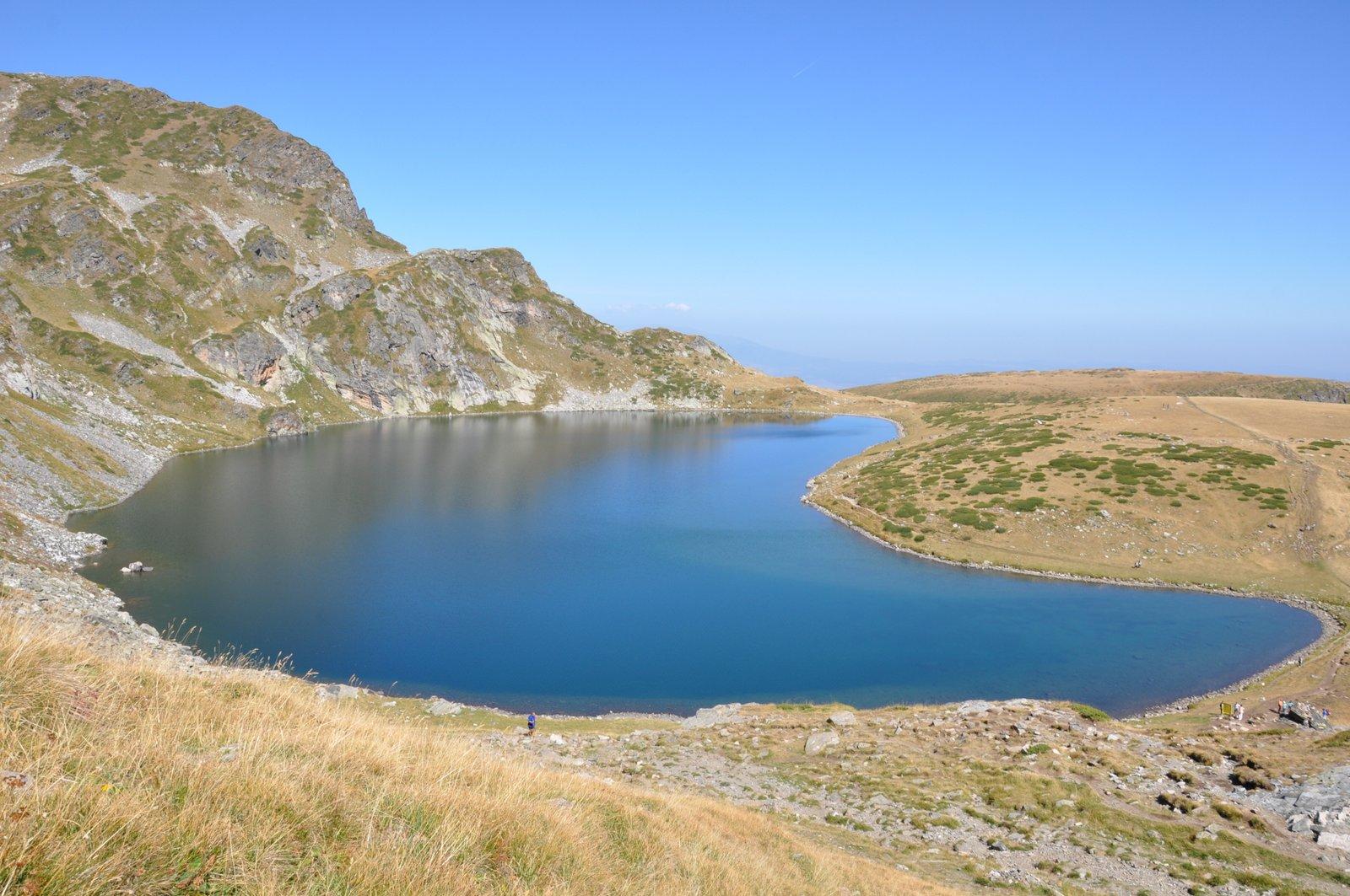 Lago Babreka en el macizo de Rila