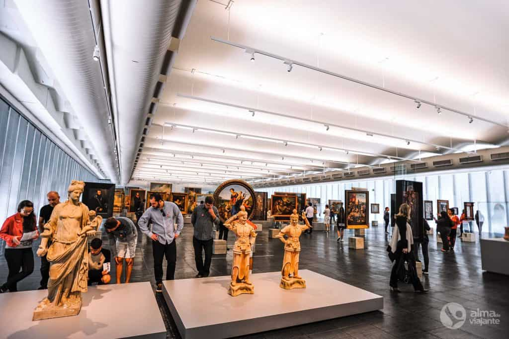 Museos en São Paulo: MASP