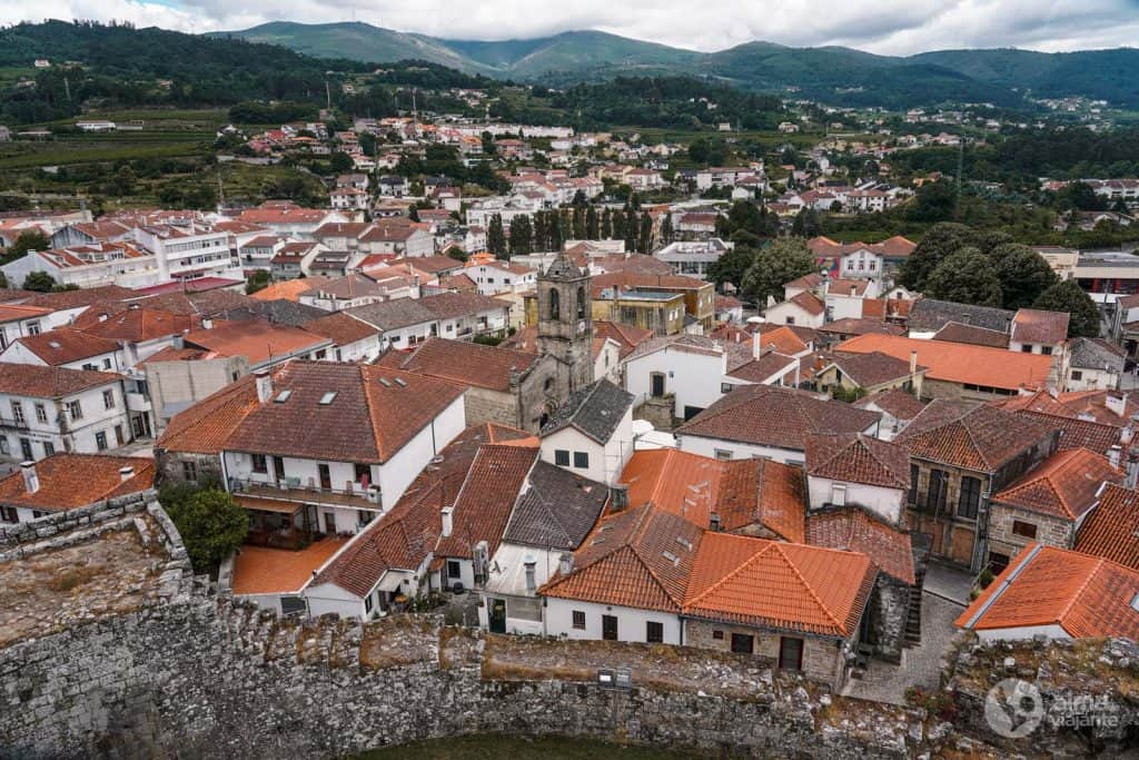 Centro histórico de Melgaço visto desde la torre del castillo
