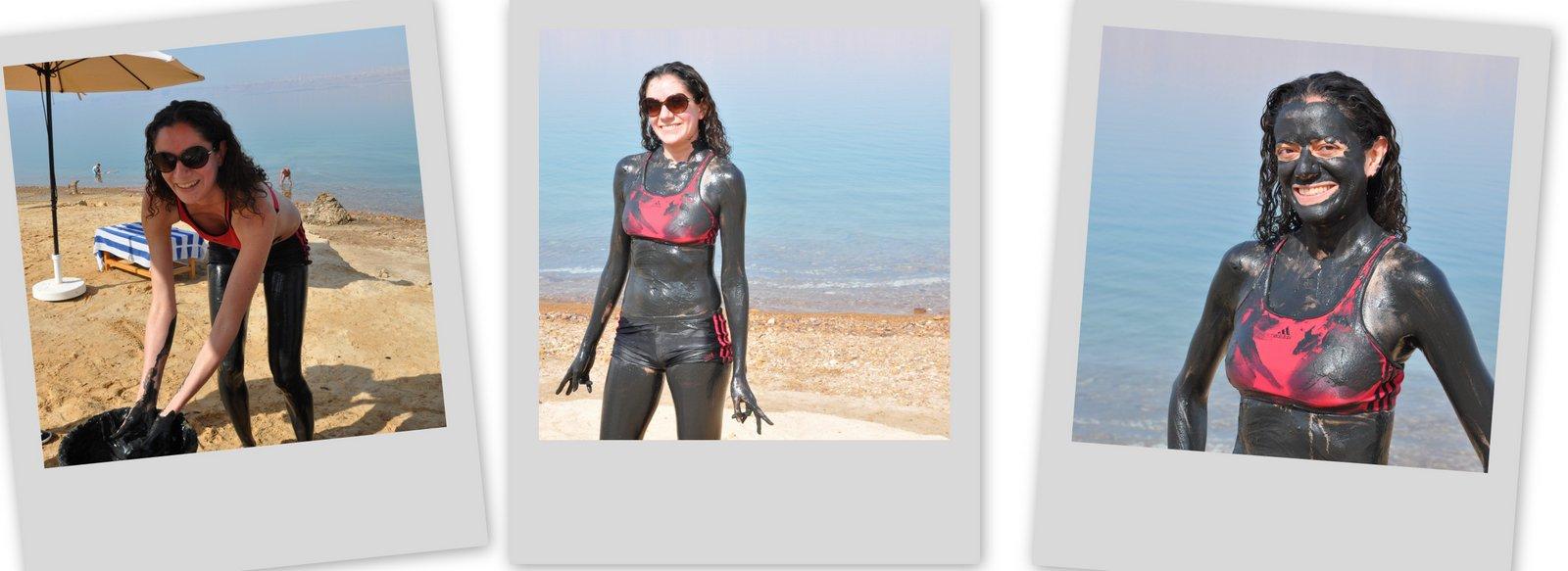 mar muerto barro jordania
