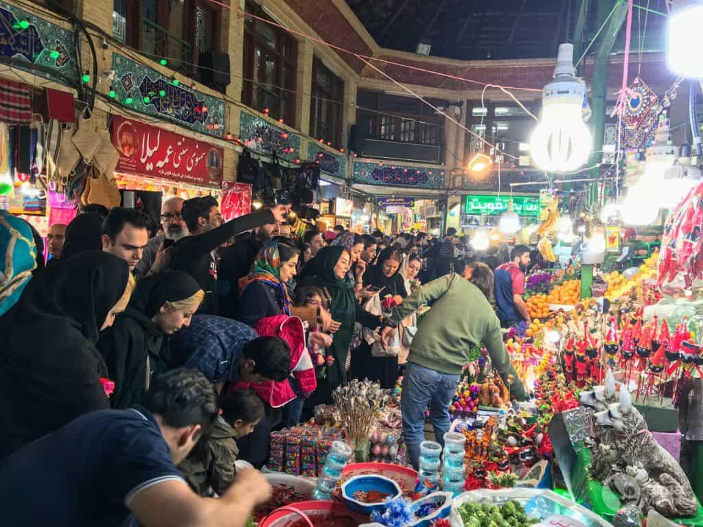 Mercado Tajrish, Teherán