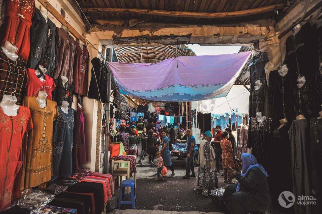 Mercado de Urgut, Uzbekistán