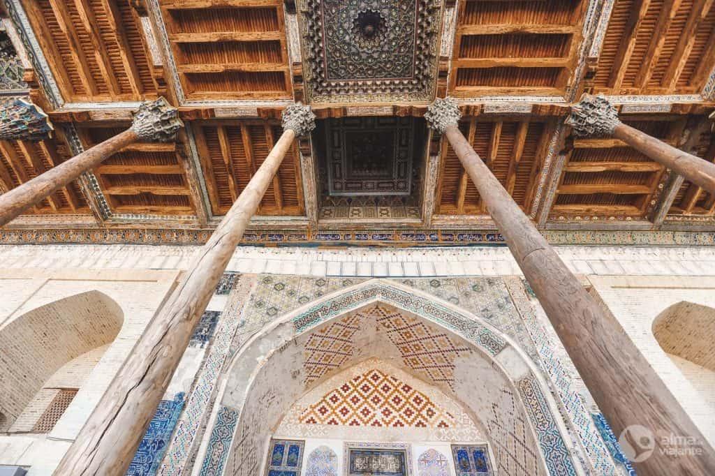 Mezquita del Pastel de Hauz, Bujará
