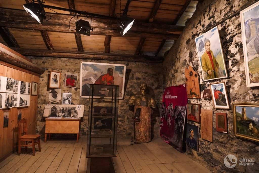 Museo en Mestia: Mikhail Khergiani