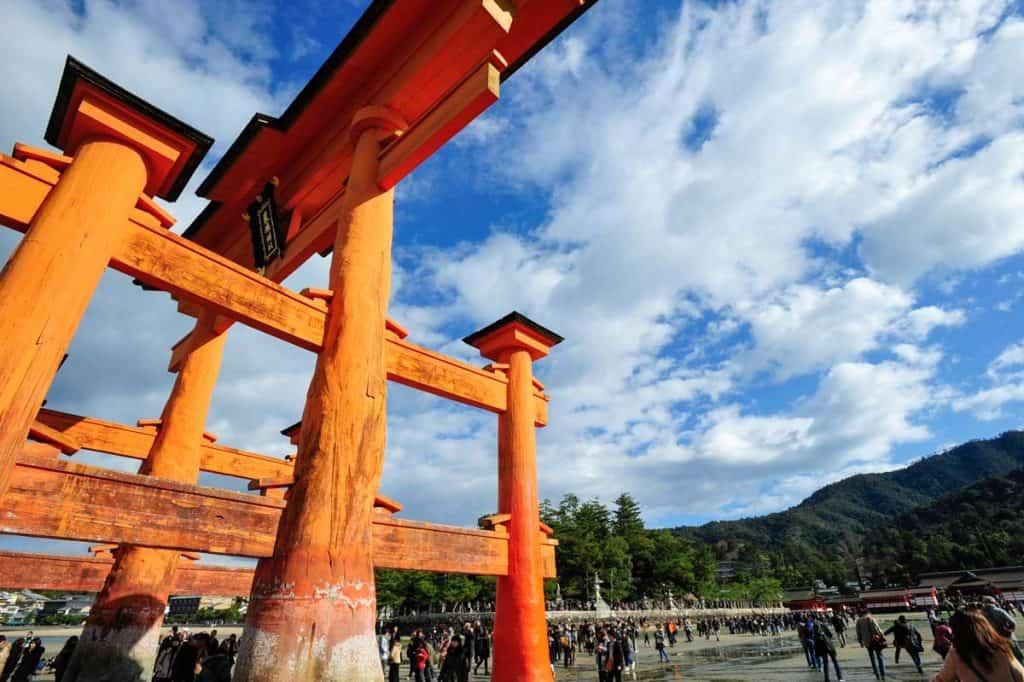 Gran puerta del santuario de Itsukushima
