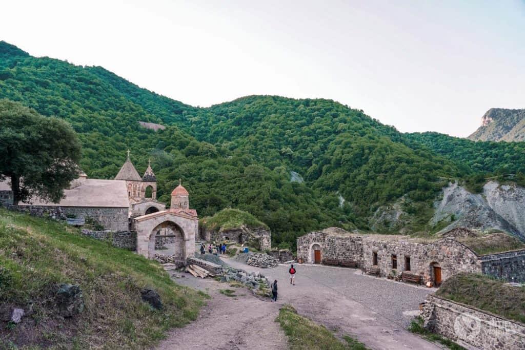 Monasterio de Dadivank, Nagorno-Karabaj