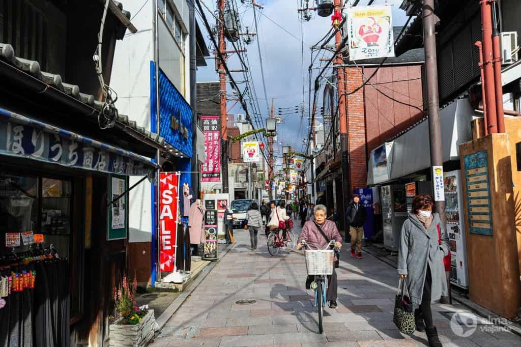 Calle Nara, Japón